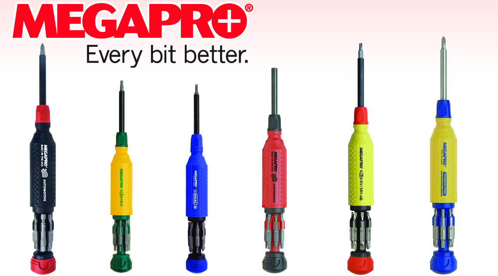 Megapro Screw Drivers screwdrivers