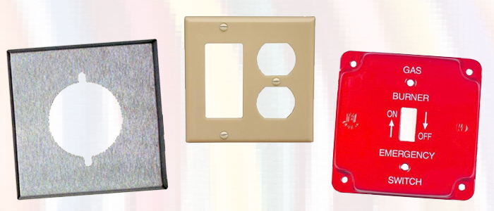 Electrical Wall Plates Painted Stainless Steel Plastic And More