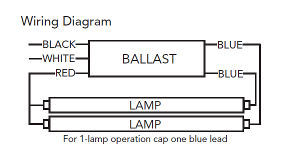 single lamp t12 ballast wiring diagram 4 lamp t12 ballast wiring diagram #2