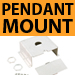 Pendant Mount Kit for High Bay Fluorescent